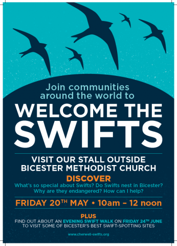 Welcome to the Swifts Poster